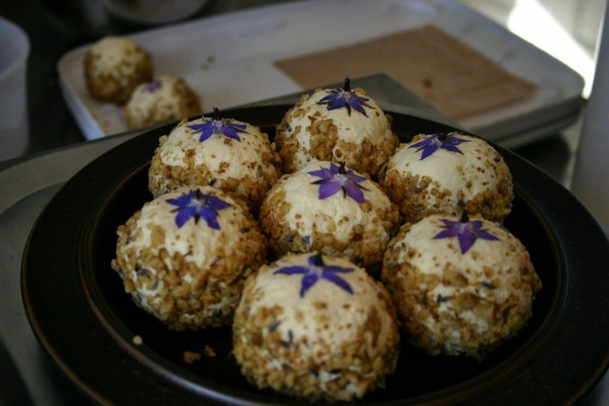 Honey Lavender Walnut Boules