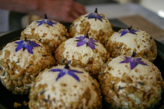 Honey Lavender Walnut Boules